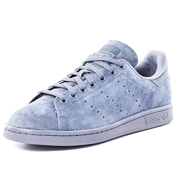 Adidas Originals STAN SMITH VINTAGE Scarpe Sneakers Pelle Scanosciata Grigio per Unisex WYsL9b
