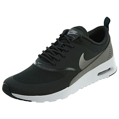 purchase cheap 1569c 617b5 Nike Damen Air Max Thea Dunkelgrün Nubukleder Sneaker 36.5