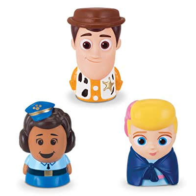 Toy Story Disney Pixar 4 Finger Puppets - 3 Pack - Woody, Giggle Mcdimples, Bo Peep: Toys & Games