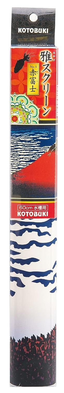 Kotobuki crafts Ya screen 3 red Fuji 60cm