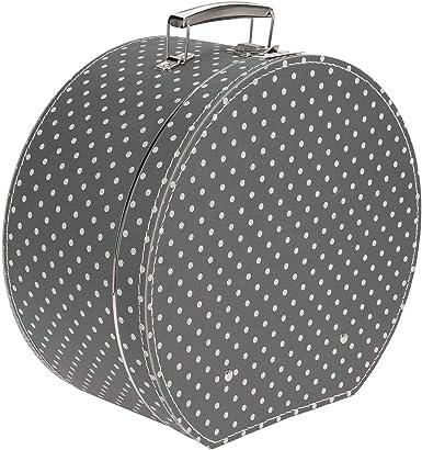 Lierys Caja Sombrero Lunares Mujer - Made in The EU para sombrerera complementos Verano/Invierno - Talla única Negro: Amazon.es: Ropa y accesorios