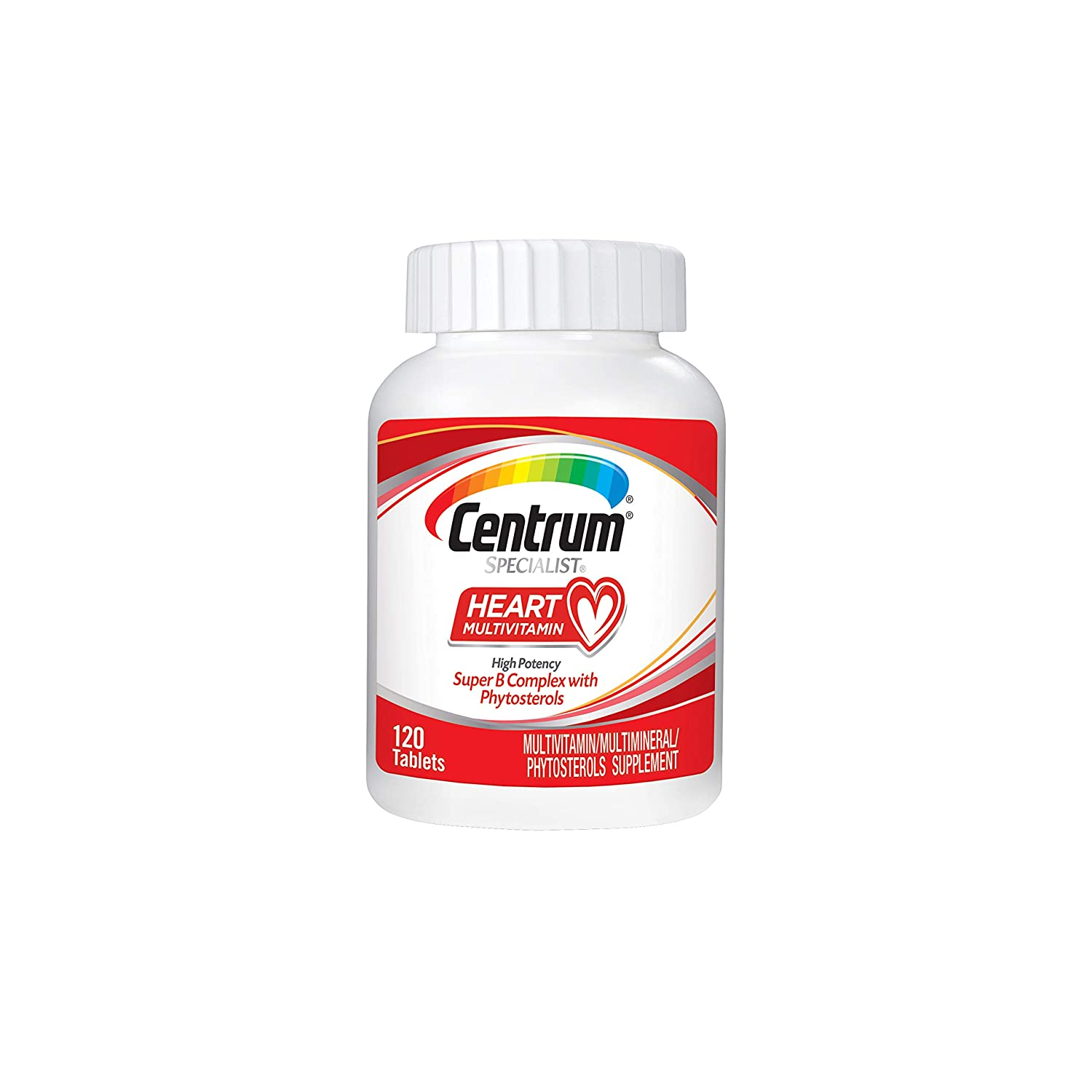 Centrum Specialist Heart Complete Multivitamin Supplement 120Count Tablets