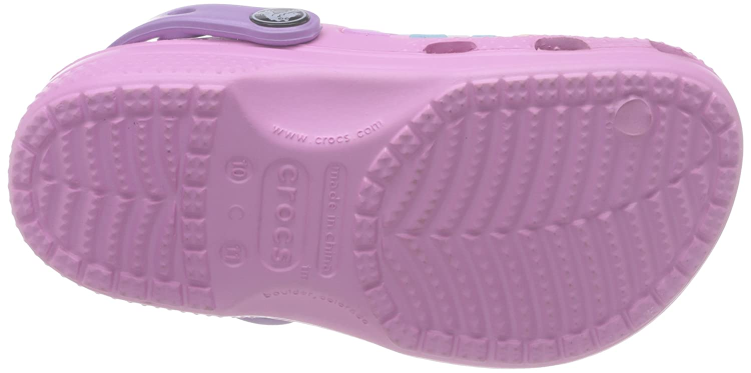 4c01d63d146f crocs Girl s CC Dora Butterfly Carnation and Iris Clogs and Mules - J2  Buy  Online at Low Prices in India - Amazon.in