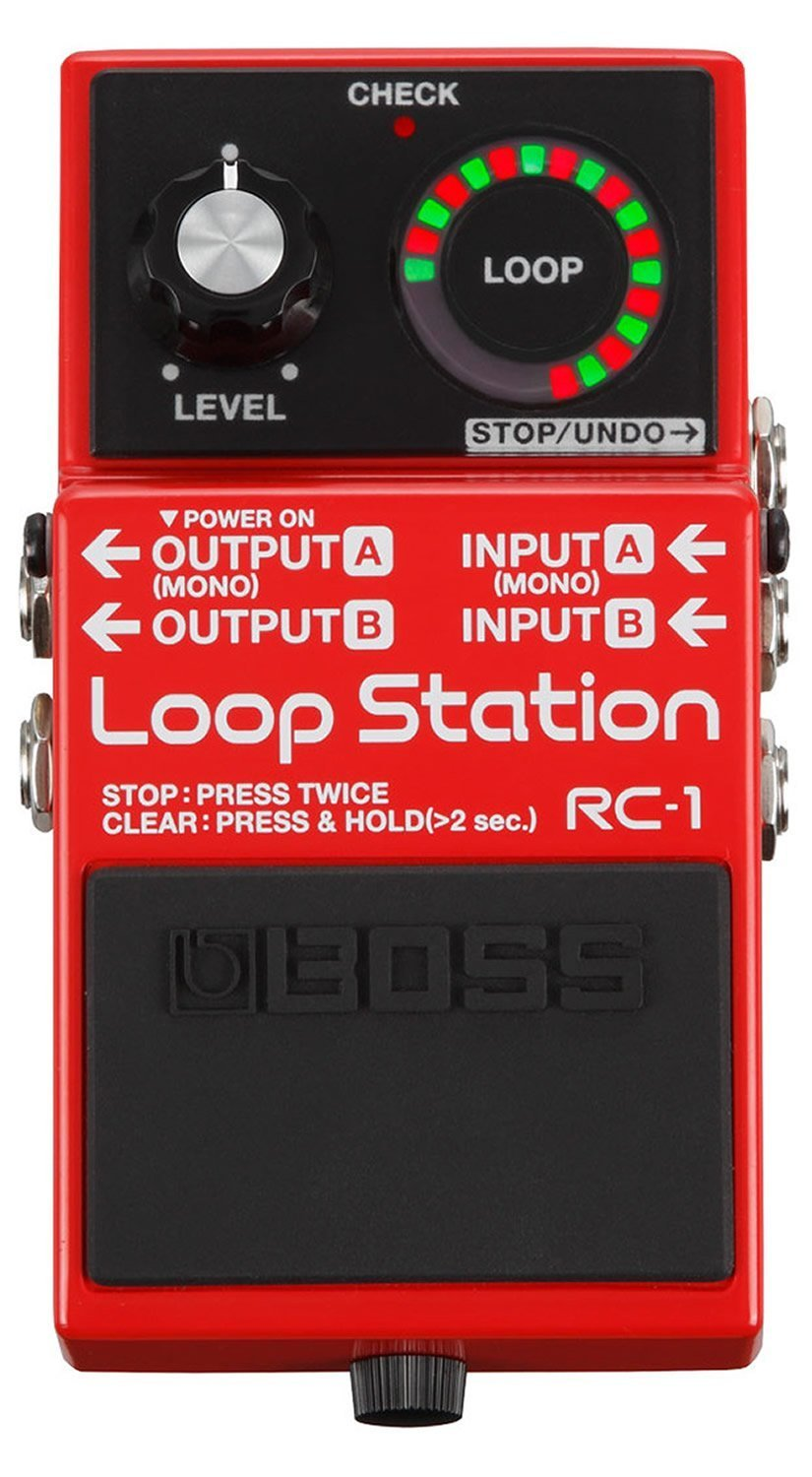 Boss RC-1 Loop Station Pedal with 1 Year Free Extended Warranty by Boss Audio