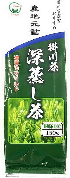 山城物産 産地元詰 掛川茶 深蒸し茶 150g ×1袋