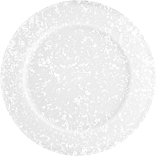 product image for Dexas Jelli Plastic Serving Plate/Charger, 14 Inch Diameter, Granite Pattern