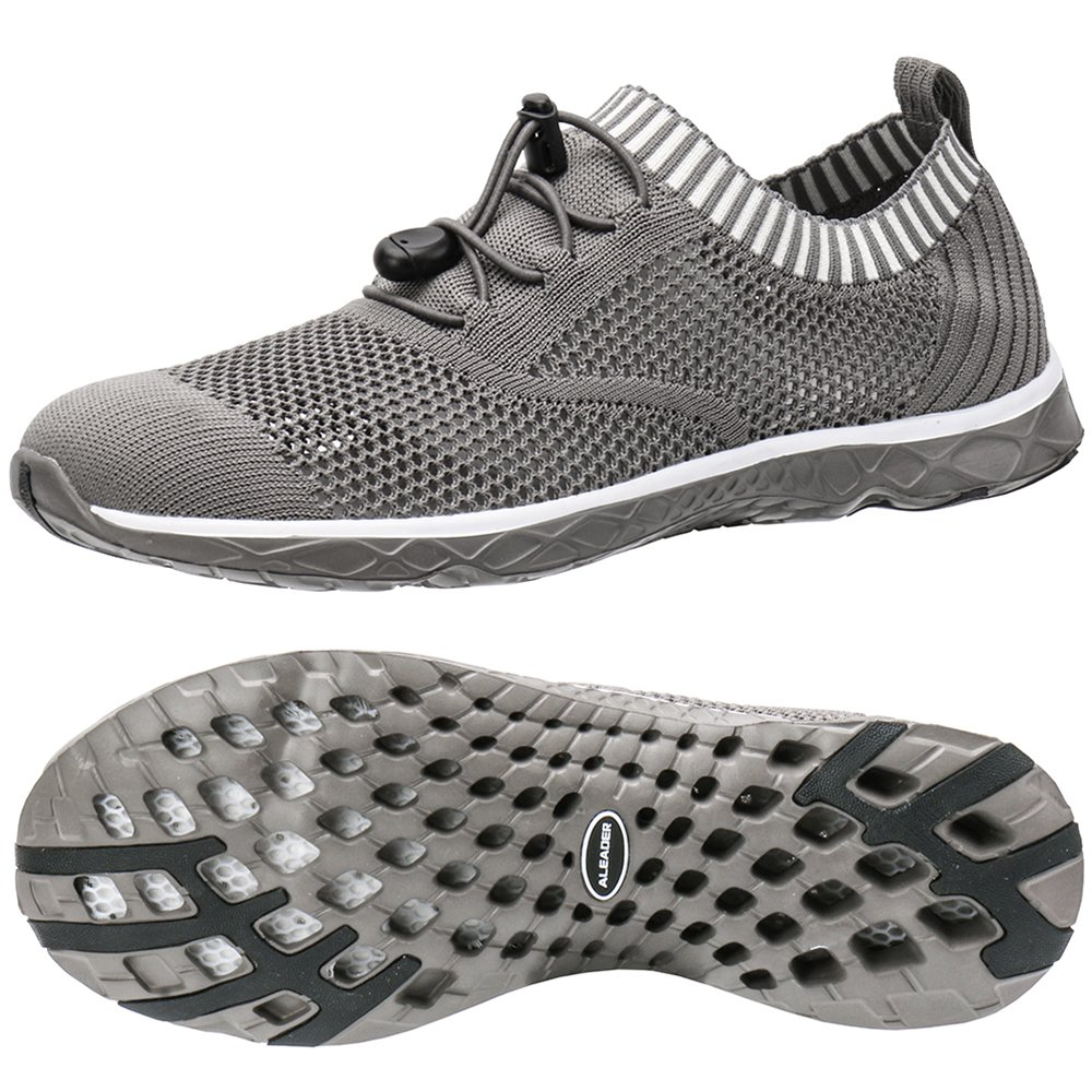 ALEADER Women's Adventure Aquatic Water Shoes Overcast Gray 9 D(M) US by ALEADER