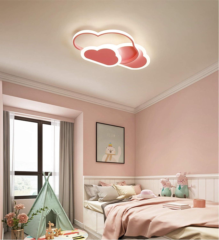 GUANSHAN 3D Plafonnier Led Creative St/ér/éoscopique Nuages Plafonnier /Éclairage De La Lampe pour Gar/çons Filles Chambre Jardin 32W Lumi/ère Blanche Chaude