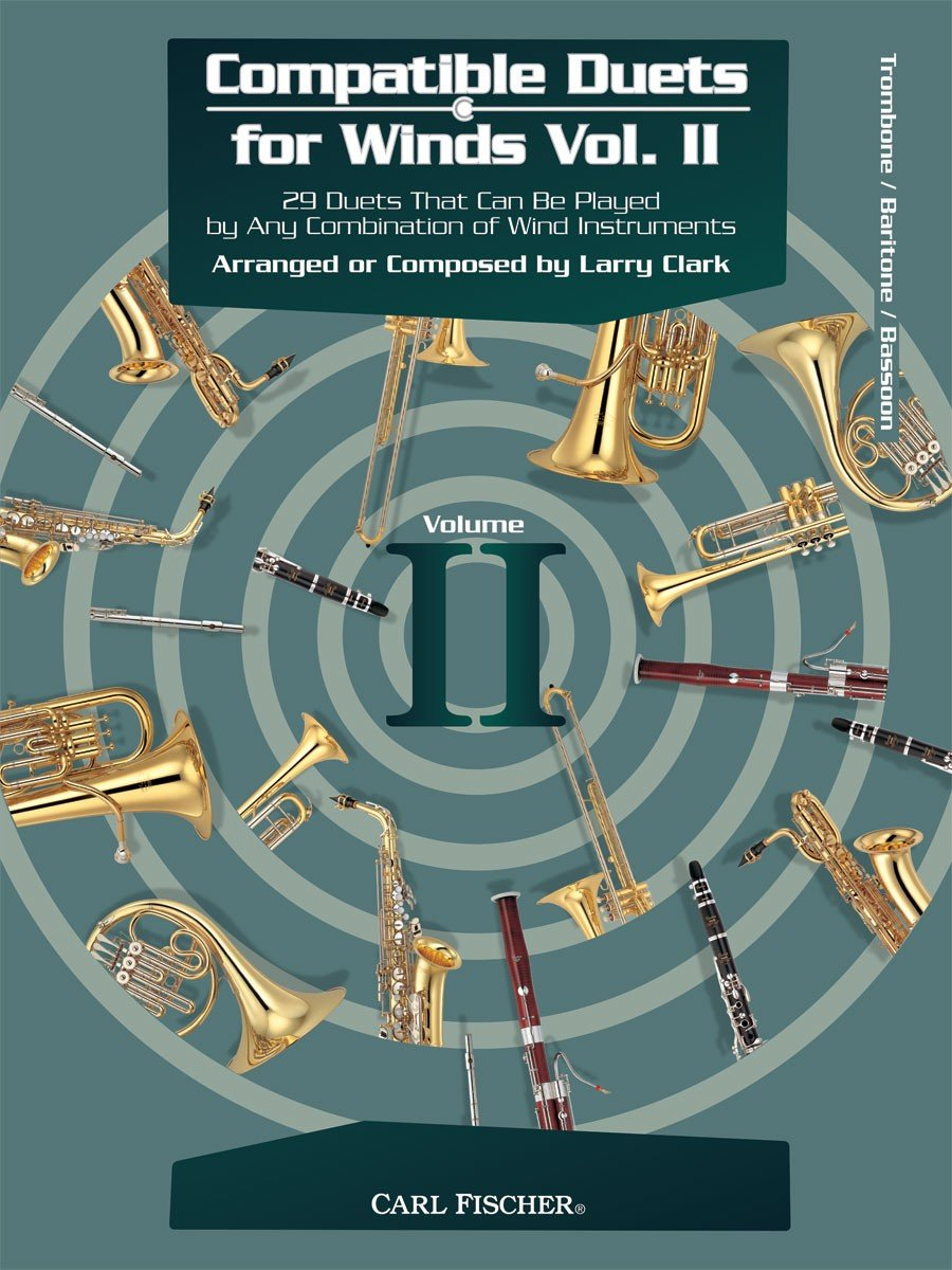 Compatible Duets for Winds, Volume II (Flute or Oboe)