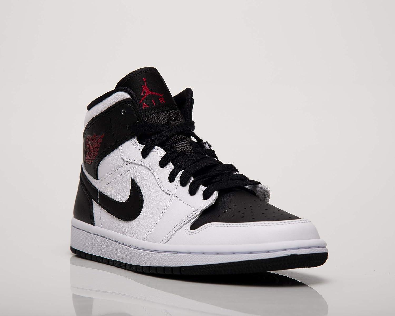 NIKE Wmns Air Jordan 1 Mid Se Zapatillas de b/ásquetbol Mujer