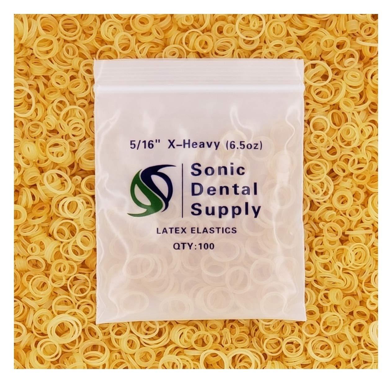 Amazon Com Sonic Dental Amber 5 16 X Heavy 6 5 Oz