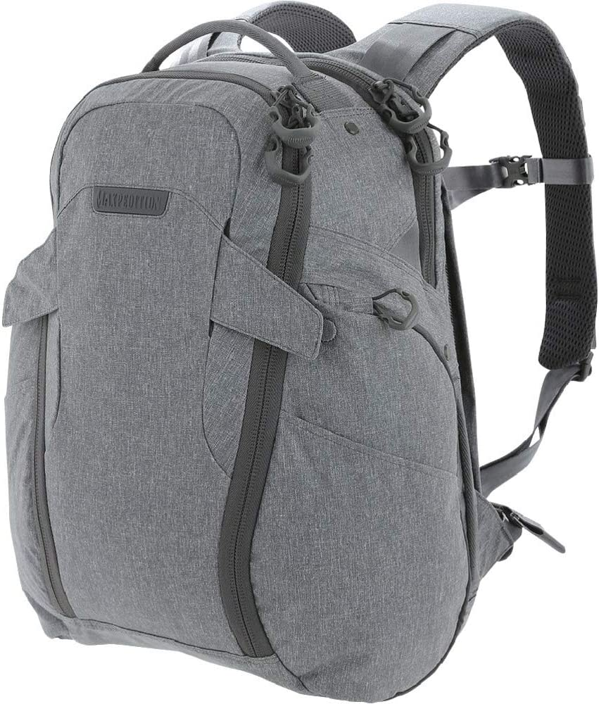Maxpedition Entity 23 CCW-Enabled Laptop Backpack 23L, Ash