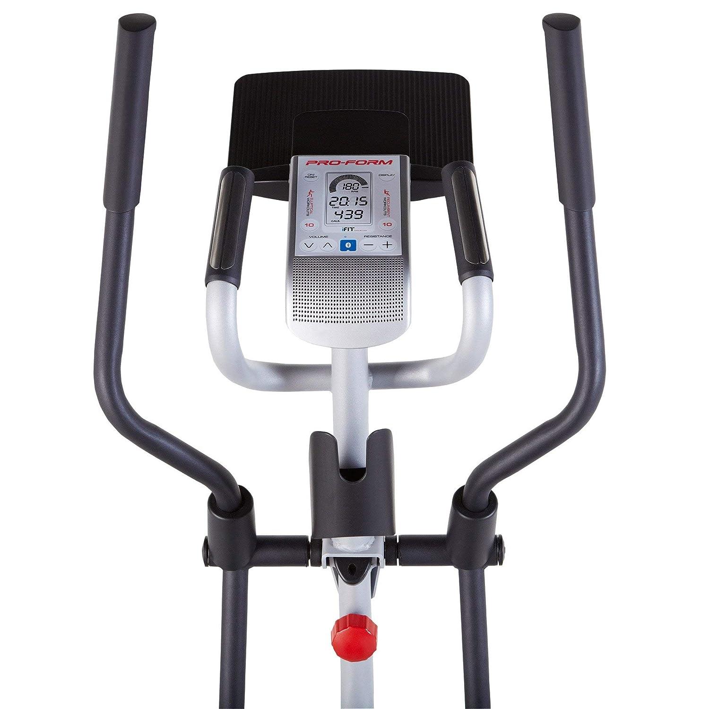 Proform híbrida Trainer Pro cruzado Cardio bicicleta estática/elíptica + Alfombrilla de suelo: Amazon.es: Deportes y aire libre