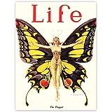 Art Magazine Cover 1922 Life Butterfly Dancer Poster Print