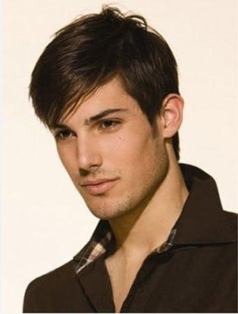 Amazon Com Wig In Fashion Men S Wig Short Hair Hot Fluffy