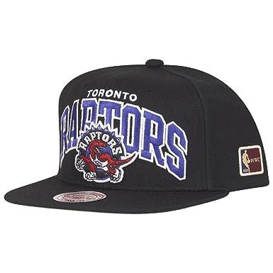 Image Unavailable. Image not available for. Color  Mitchell   Ness Toronto  Raptors HUD127 Black Team Arch Snapback Cap HWC NBA ec6b77c8adfa