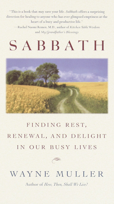 Sabbath book cover by Wayne Muller