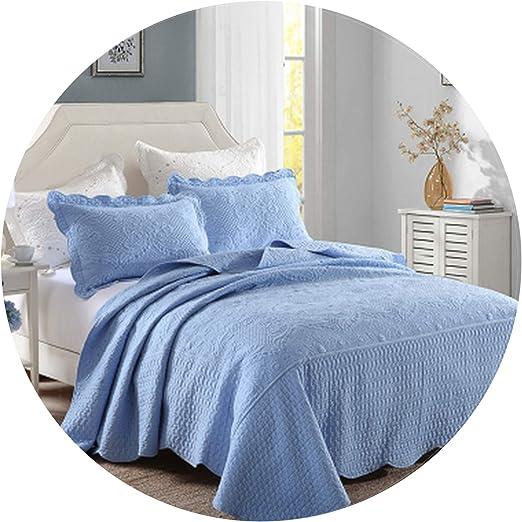 Royal Tie Dye Bedspread Bedcover Double Bed Sheet Indian Indigo Blue Bedding Set