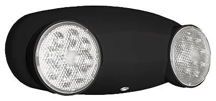lithonia lighting elm2 led b m12 quantum 2 light black led emergency