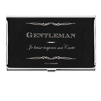 Derriere La Porte DLP Pour Cartes De Visite Design Gentleman Enseignants