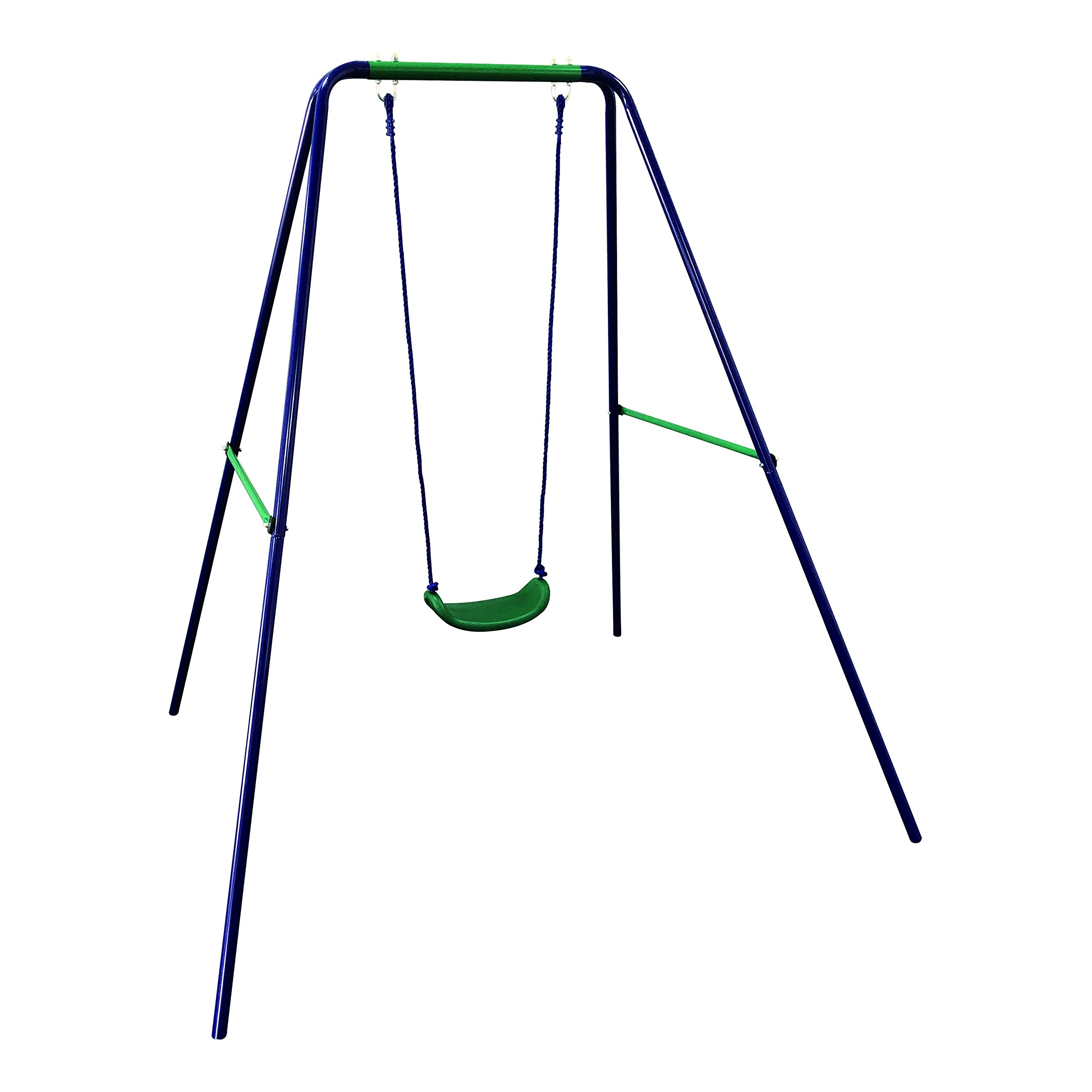 ALEKO BSW01 Child Baby Toddler Outdoor Swing Playground Accessory Blue and Green by ALEKO
