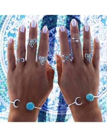 GYJUN /Étoile de mer turquoise /étoiles pendentif collier /& ensemble de bijoux Boucles d/'oreilles en argent