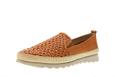 Shoes Woman Moccasins C122_29 Chapter Cuoio
