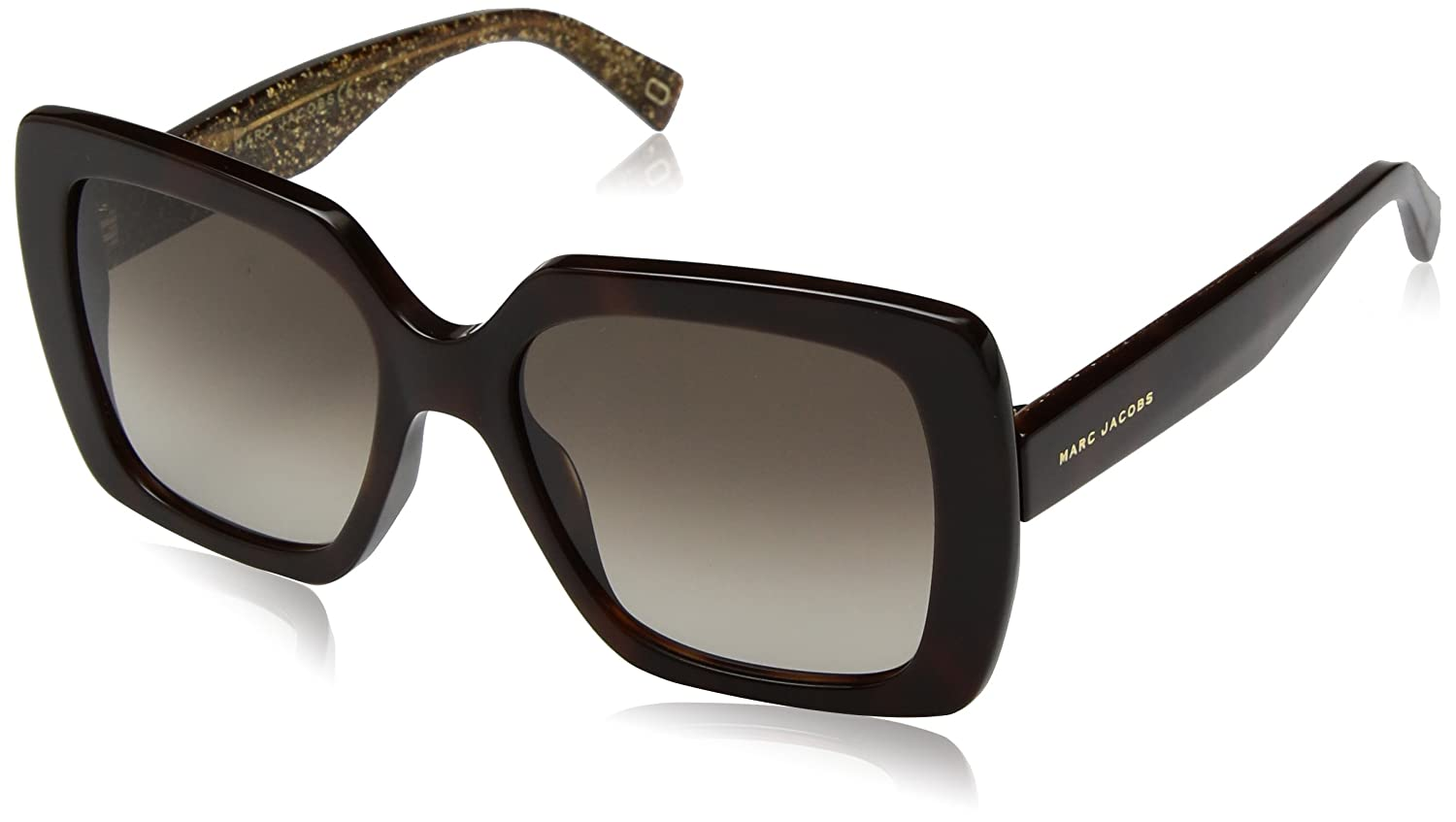 Marc Jacobs Women' 's 230/S HA DXH 53 Sunglasses, (Hay Bwglt Gld/Bw Brown) MARC 230/S HA