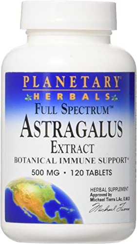 Full Spectrum Astragalus Extract Planetary Herbals 120 Tab
