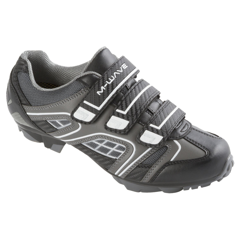 M-Wave X1 Mountain Bike Shoe, White Black, 39
