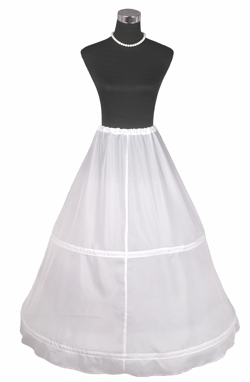Flora 2 Hoop Bridal Wedding Petticoat//Prom Underskirt,Size S-XL