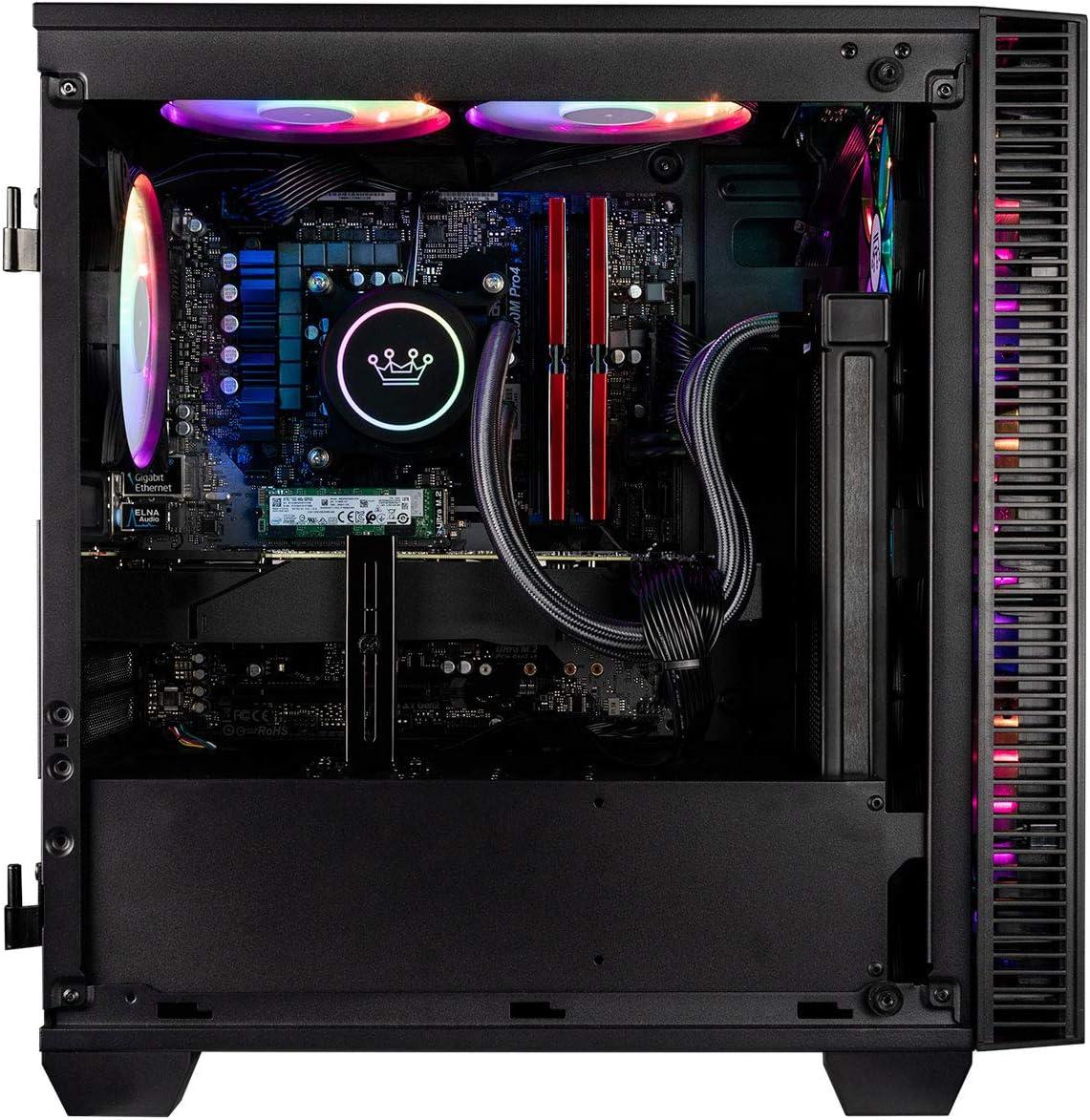Gaming Desktop Computer CUK Continuum Micro Gamer PC Intel i7-9700F, 16GB RAM, 512GB NVMe SSD, NVIDIA GeForce GTX 1060 3GB, 600W Gold PSU, Windows 10 Home
