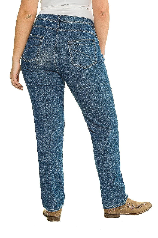 8c279b7010f846 Ulla Popken Women s Plus Size Organic Cotton High Stretch Jeans 712574   Ulla Popken  Amazon.co.uk  Clothing