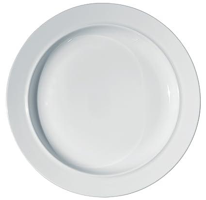 Alessi La Bella Tavola Plate Round Flat Dish (ES13/21)  sc 1 st  Amazon.com & Amazon.com | Alessi La Bella Tavola Plate Round Flat Dish (ES13/21 ...