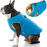 Gooby Padded Dog Vest - Zip Up Dog Jacket Coat with D Ring Leash - Small Dog Sweater with Zipper Closure - Dog Clothes for Sm