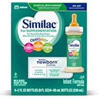 Deals on 48PK Similac for Supplementation Non-GMO Infant Formula 2oz