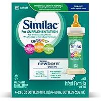 48PK Similac for Supplementation Non-GMO Infant Formula 2oz
