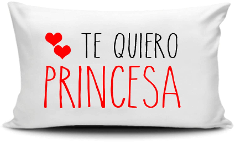 CGS Digital Cojin 30x50 cm Te Quiero Princesa: Amazon.es: Hogar