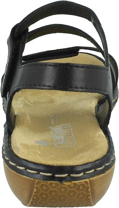 Rieker Sphere Womens Riptape Sandals: : Schuhe