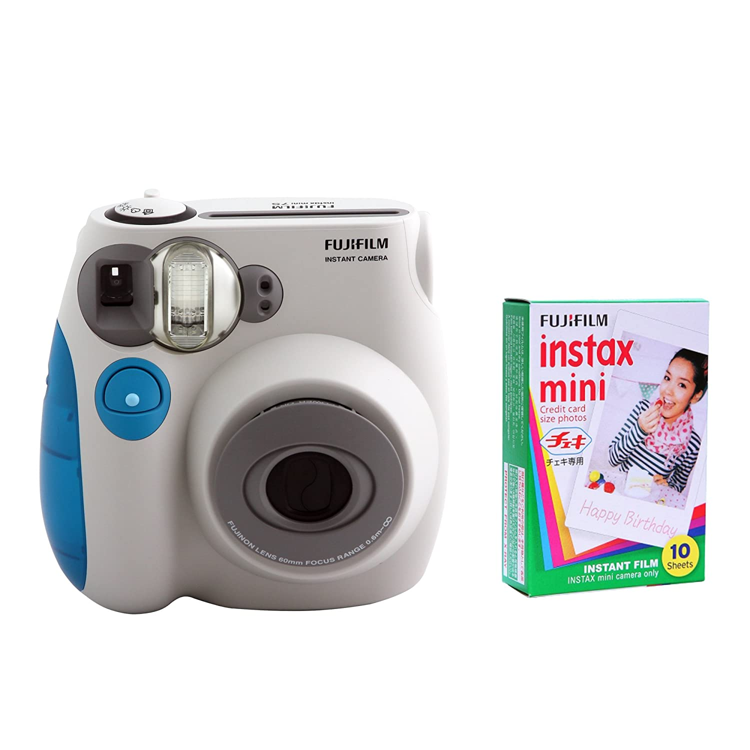 Well Wreapped Fujifilm Instax Mini 7s Trim Kit And One Paper Single Pack Film With