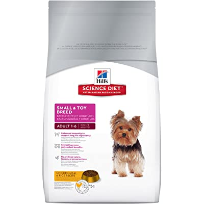 Hill's Science Diet Adult Small & Toy Breed Dog Food