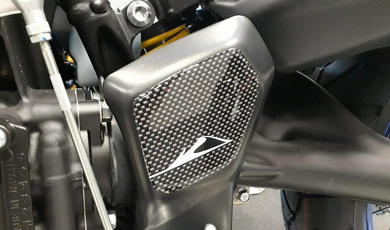 2 Protecciones Estribo de Puerta en Gel 3d Compatible para Yamaha Super Tenere de 2016