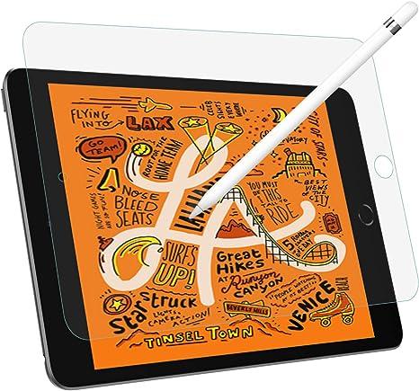 """Image of MoKo Protectora de Pantalla de Película Compatible con iPad Mini 5, Ultra-Delgado y Ligero, Escribir y Dibujar con para New iPad Mini (5th Generation) 7.9"""" 2019 Tablet - Escarchado"""
