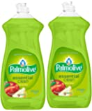 Palmolive Dish Liquid, Essential Clean, Apple Pear, 28 Fluid Ounce - Pack of 2