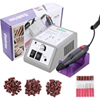 Cadrim Nail Drill Machine Electric Nail File Manicure Pedicure Drill with Nail Drill Bits Kits for Acrylic Nails (20,000 RPM)