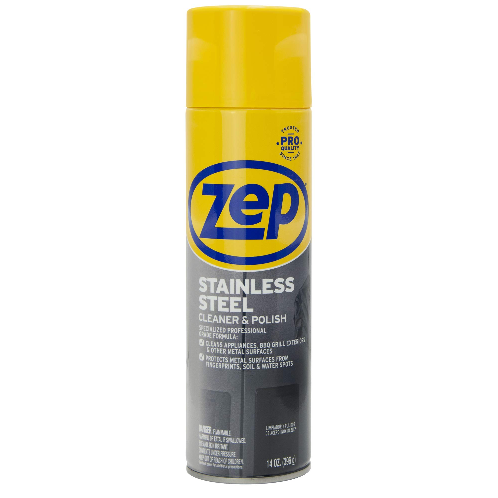 Zep Stainless Steel Cleaner 14 Ounce ZUSSTL14 (case of 4) by Zep (Image #2)