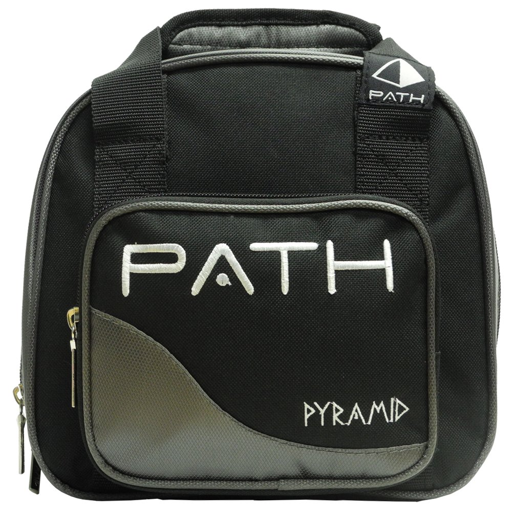 Pyramid Path Plus One Spare Tote Bowling Bag (Black/Silver) by Pyramid