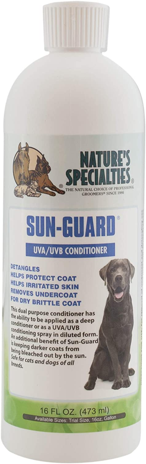 Nature's Specialties Sun-Guard Conditioner for Dogs Cats, Non-Toxic Biodegradeable, 1gal