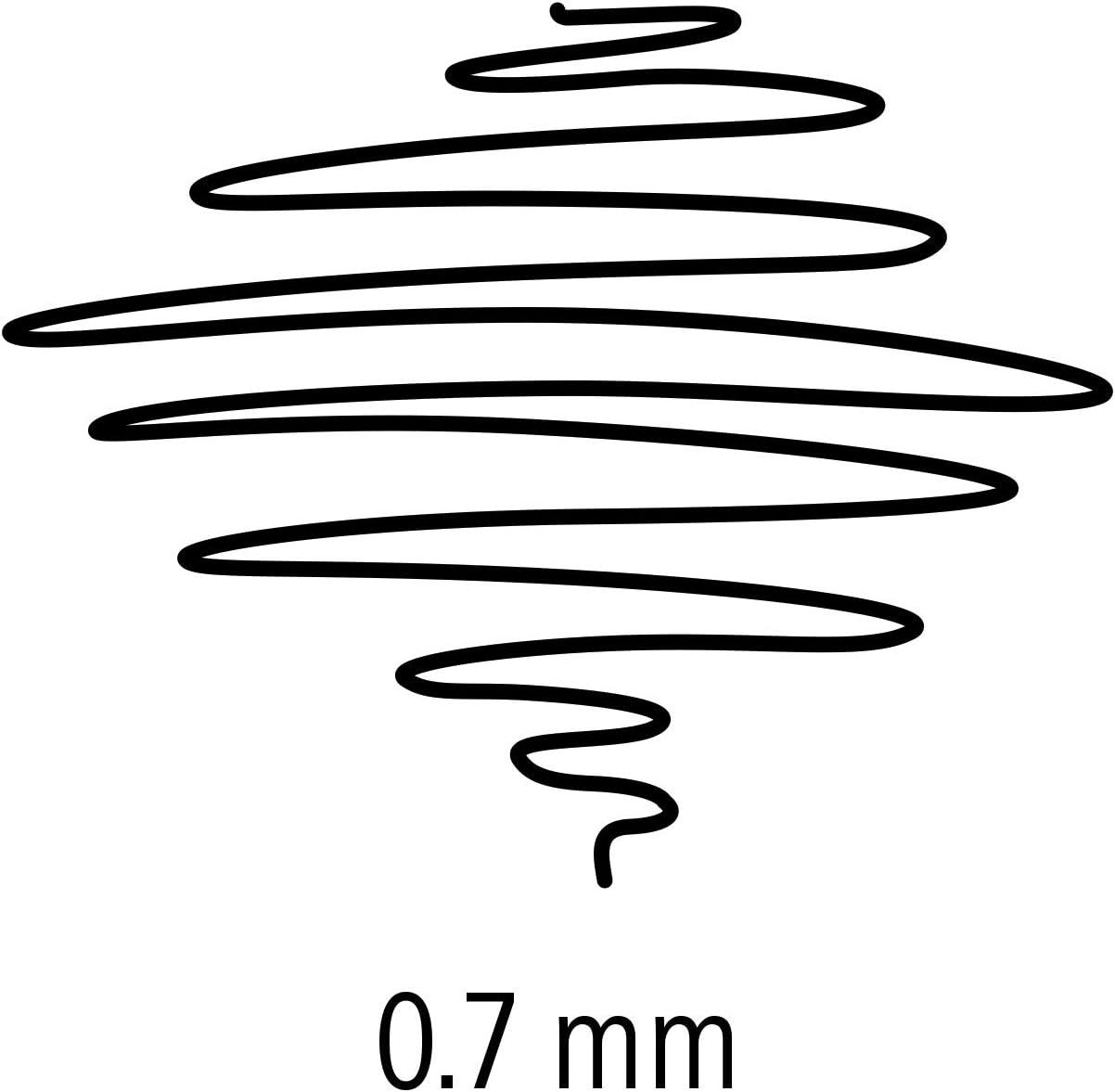 0,13mm Staedtler 700 M Mars matic Tuschezeichner blau
