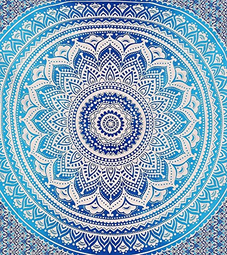 Montreal Tappassier Ombre Indian Wall Hanging Hippie Mandala